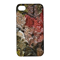 Strange Abstract 5 Apple Iphone 4/4s Hardshell Case With Stand by MoreColorsinLife