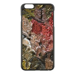 Strange Abstract 5 Apple Iphone 6 Plus/6s Plus Black Enamel Case by MoreColorsinLife