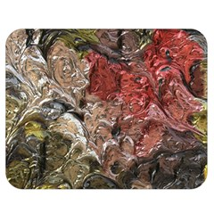 Strange Abstract 5 Double Sided Flano Blanket (medium)  by MoreColorsinLife