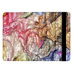 Strange Abstract 6 Samsung Galaxy Tab Pro 12 2  Flip Case by MoreColorsinLife