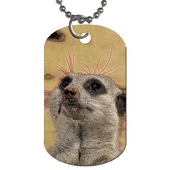 Meerkat 2 Dog Tag (two Sides) by ImpressiveMoments
