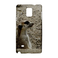 Adorable Meerkat Samsung Galaxy Note 4 Hardshell Case by ImpressiveMoments