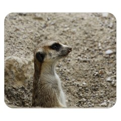Adorable Meerkat Double Sided Flano Blanket (Small)