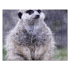 Adorable Meerkat 03 Rectangular Jigsaw Puzzl by ImpressiveMoments