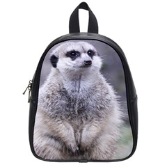 Adorable Meerkat 03 School Bags (small)  by ImpressiveMoments