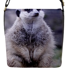 Adorable Meerkat 03 Flap Messenger Bag (s) by ImpressiveMoments
