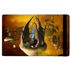 The Forgotten World In The Sky Apple Ipad 3/4 Flip Case by FantasyWorld7