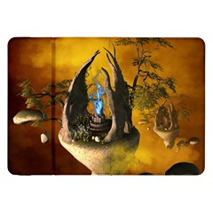 The Forgotten World In The Sky Samsung Galaxy Tab 8 9  P7300 Flip Case by FantasyWorld7