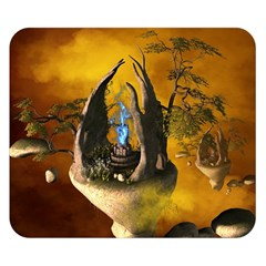 The Forgotten World In The Sky Double Sided Flano Blanket (small)  by FantasyWorld7