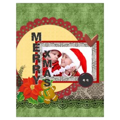 Xmas By Debe Lee   Drawstring Bag (large)   T5qz9eaxc5dc   Www Artscow Com Front