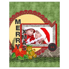 Xmas By Debe Lee   Drawstring Bag (large)   T5qz9eaxc5dc   Www Artscow Com Back