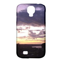 Sunset Over The Valley Samsung Galaxy S4 Classic Hardshell Case (pc+silicone) by canvasngiftshop