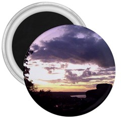 Sunset Over The Valley 3  Magnets by canvasngiftshop