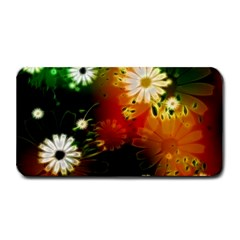 Awesome Flowers In Glowing Lights Medium Bar Mats by FantasyWorld7