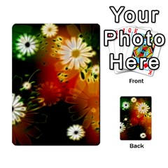 Awesome Flowers In Glowing Lights Multi Purpose Cards (rectangle)  by FantasyWorld7