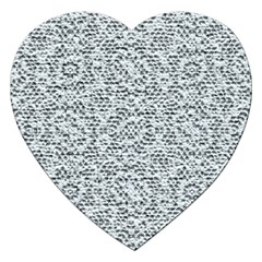 Bridal Lace Jigsaw Puzzle (Heart) by MoreColorsinLife