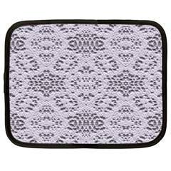 Bridal Lace 3 Netbook Case (xxl)  by MoreColorsinLife