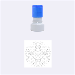 Bridal Lace 3 Rubber Round Stamps (small)