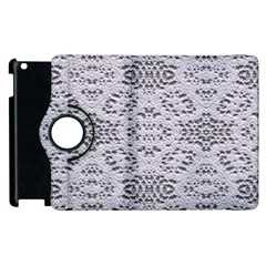 Bridal Lace 3 Apple Ipad 3/4 Flip 360 Case by MoreColorsinLife