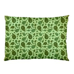 Vintage Paisley Green Pillow Cases by MoreColorsinLife