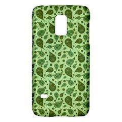 Vintage Paisley Green Galaxy S5 Mini by MoreColorsinLife