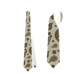 Vintage Paisley Grey Neckties (one Side)  by MoreColorsinLife