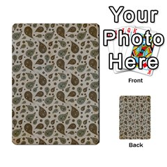 Vintage Paisley Grey Multi Purpose Cards (rectangle)
