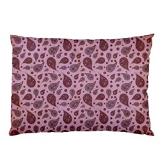 Vintage Paisley Pink Pillow Cases by MoreColorsinLife