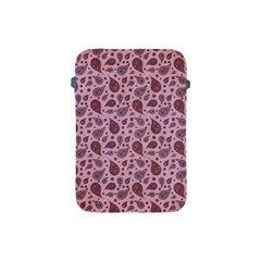 Vintage Paisley Pink Apple Ipad Mini Protective Soft Cases by MoreColorsinLife
