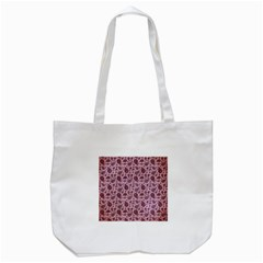 Vintage Paisley Pink Tote Bag (white)  by MoreColorsinLife