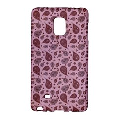 Vintage Paisley Pink Galaxy Note Edge by MoreColorsinLife