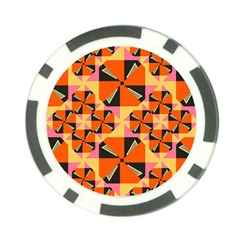Windmill In Rhombus Shapes Poker Chip Card Guard by LalyLauraFLM