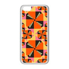 Windmill In Rhombus Shapes Apple Iphone 5c Seamless Case (white) by LalyLauraFLM