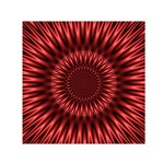 Red Lagoon Small Satin Scarf (Square)