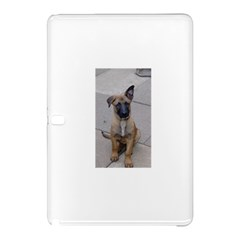 Malinois Puppy Sitting Samsung Galaxy Tab Pro 12.2 Hardshell Case by TailWags