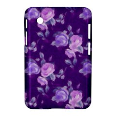 Vintage Roses Purple Samsung Galaxy Tab 2 (7 ) P3100 Hardshell Case  by MoreColorsinLife