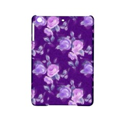 Vintage Roses Purple Ipad Mini 2 Hardshell Cases by MoreColorsinLife