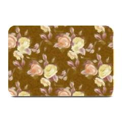 Vintage Roses Golden Plate Mats by MoreColorsinLife