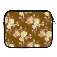 Vintage Roses Golden Apple Ipad 2/3/4 Zipper Cases by MoreColorsinLife