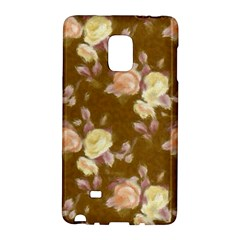 Vintage Roses Golden Galaxy Note Edge by MoreColorsinLife