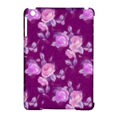 Vintage Roses Pink Apple Ipad Mini Hardshell Case (compatible With Smart Cover) by MoreColorsinLife