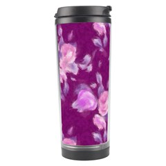 Vintage Roses Pink Travel Tumblers by MoreColorsinLife