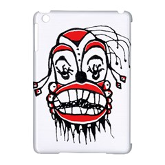 Dark Clown Drawing Apple Ipad Mini Hardshell Case (compatible With Smart Cover) by dflcprints