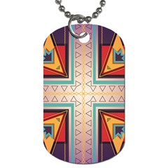 Cross And Other Shapes Dog Tag (two Sides) by LalyLauraFLM