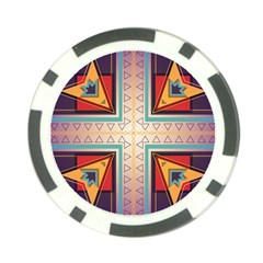 Cross And Other Shapes Poker Chip Card Guard by LalyLauraFLM