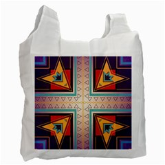 Cross And Other Shapes Recycle Bag (one Side) by LalyLauraFLM