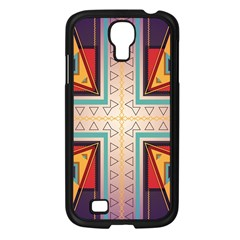 Cross And Other Shapes Samsung Galaxy S4 I9500/ I9505 Case (black) by LalyLauraFLM
