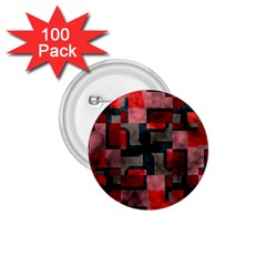 Textured Shapes 1 75  Button (100 Pack)  by LalyLauraFLM