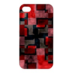 Textured Shapes Apple Iphone 4/4s Hardshell Case by LalyLauraFLM