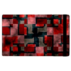 Textured Shapes Apple Ipad 3/4 Flip Case by LalyLauraFLM